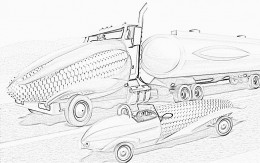 Alternative Fuels Bio Fuel - Childhood Education Online Colouring Pictures to Print-and-Colour