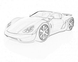 Alternative Fuel Vehicle - Childhood Education Online Colouring Pictures to Print-and-Colour