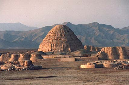 One of the Xia Tombs