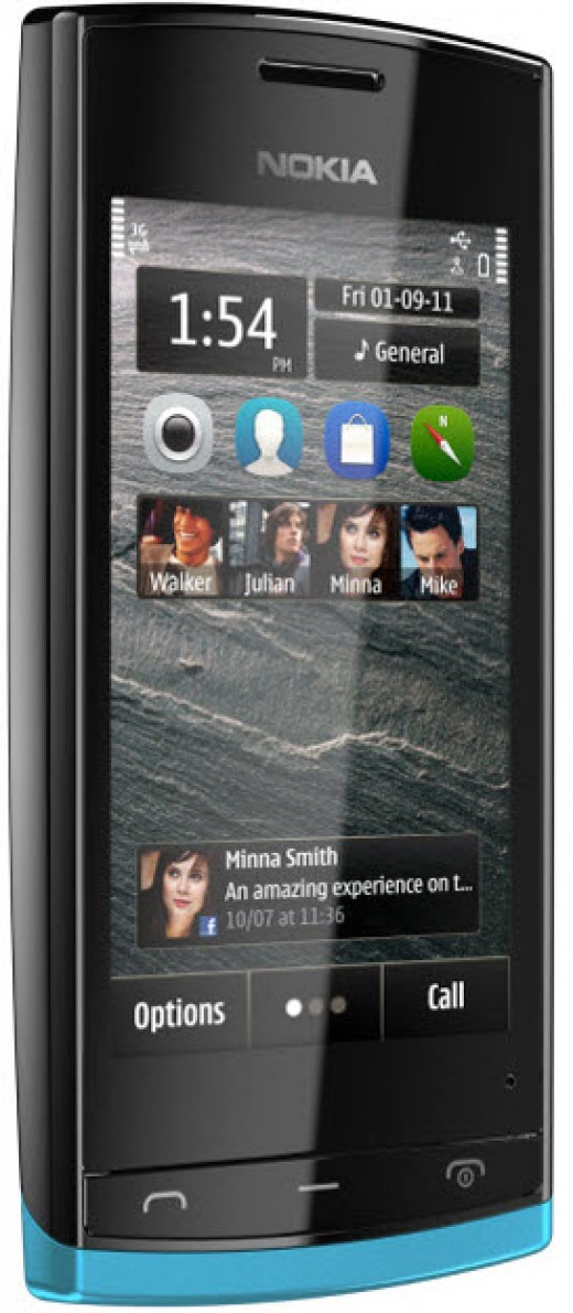 Nokia 500 new 1 GHz phone with price Rs.9500