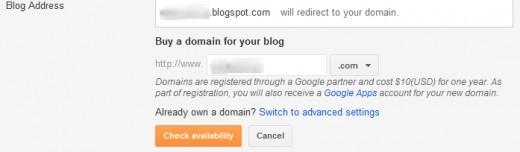 Buy a Domain Name for Your Blog