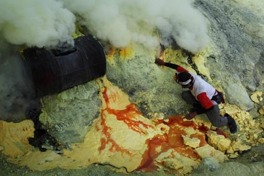 Emitting of Sulfur Dioxide & Hydrogen Sulfide