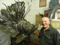Florence, Italy: Giancarlo Giachetti- Master of Metals