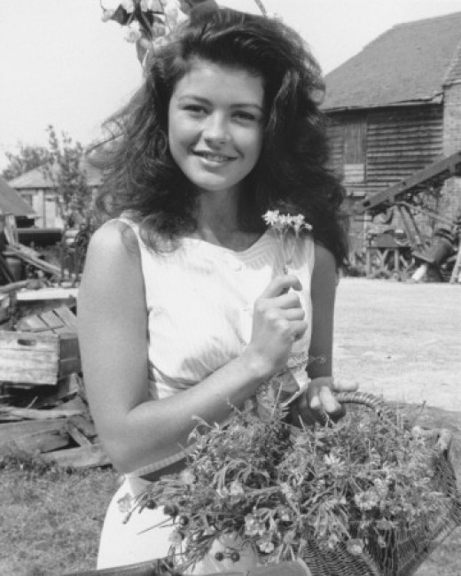 Catherine in 'The Darling Buds of May'