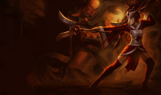 Blood Moon Akali Skin