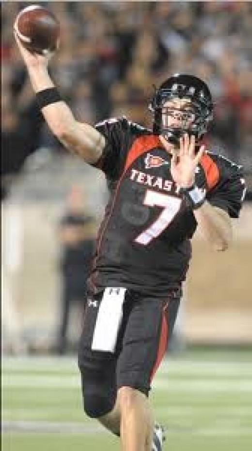QB Seth Doege  (Texas Tech)