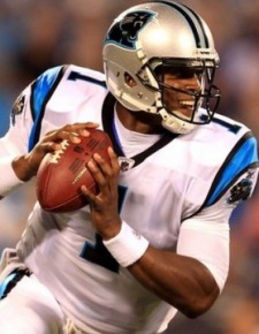 Cam Newton is off to a record breaking start for a rookie QB.