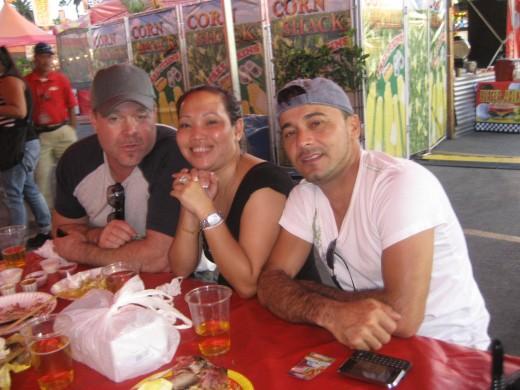 Domenic, Lisa, and Carlos