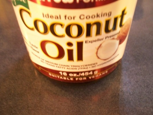 Coconut oil replaces butter and does a great job of it.