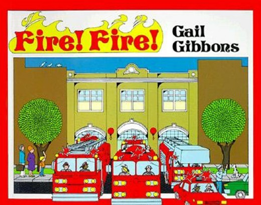 Fire! Fire! by Gail Gibbons book cover
