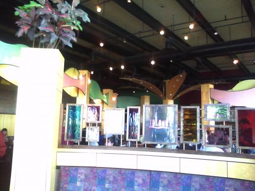 Tucanos restaurant inside