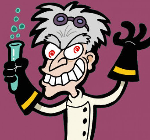 Mad Scientist Halloween Party Bushy Eyebrow Clip Art