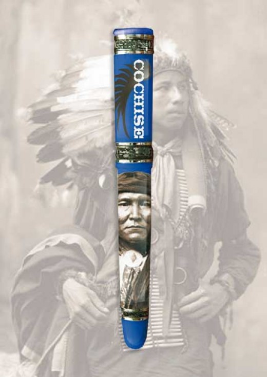 COCHISE from the Kynsey Great American Chiefs Collection
