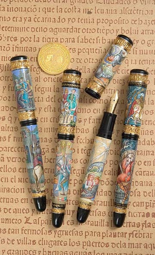 DON QUIXOTE SET from Kynsey Pen