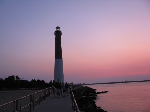 Sunset at Barnegut Lighthouse