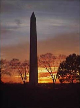 The Washington Monument | image credit: Library of Congress and National Park Service