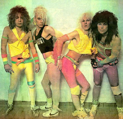 Men? Women? who can tell? It doesn't even matter in the 80's.