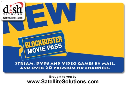 On October 1st, 2011, DISH Network launched the Blockbuster Movie Pass program.