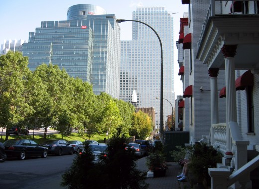 In the heart of Montreal.