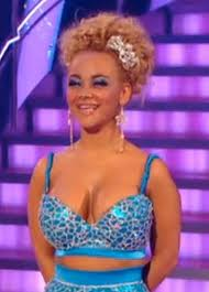 Chelsee Healey on the dance show Strictly