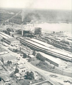 Some pictures of International Paper Company in Camden, Arkansas