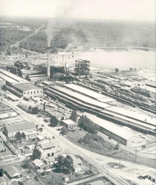 International Paper kraft mill at Camden, Arkansas