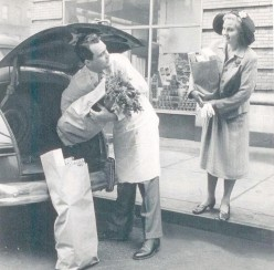 Grocery store in Camden, Arkansas around 1947