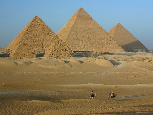 The ancient Egyptians built the pyramids and predicted planetary shifts and changes in cosciousness in 2012