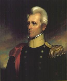 Portrait of Andrew Jackson by Ralph E. W. Earl in 1837