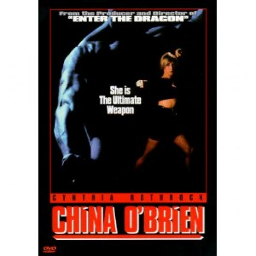 """China O'Brien"" DVD cover"