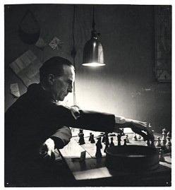 Duchamp in 1952