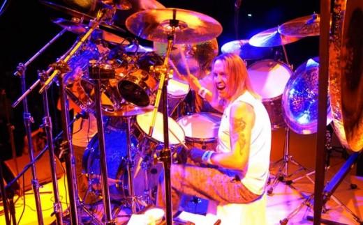 Nicko McBrain of Iron Maiden
