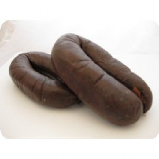 biroldi  (blood sausages)