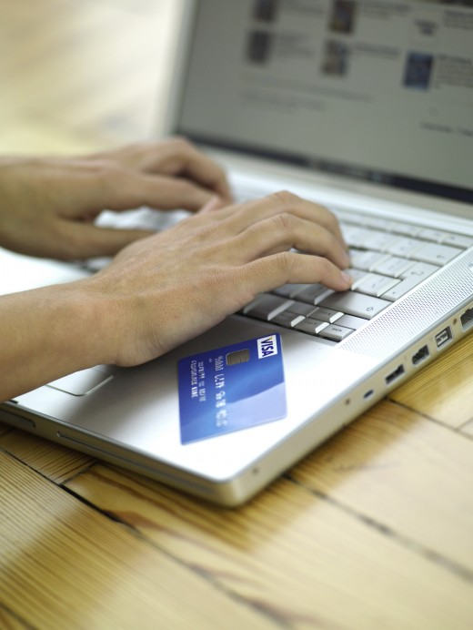 Don't provide your credit card details to untrusted shops or individuals