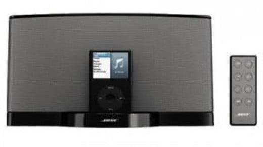 a compact efficient stereo system with top sound