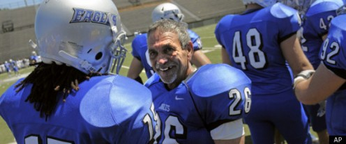 Faulkner University Eagles 61 yr old placekicker Alan Moore