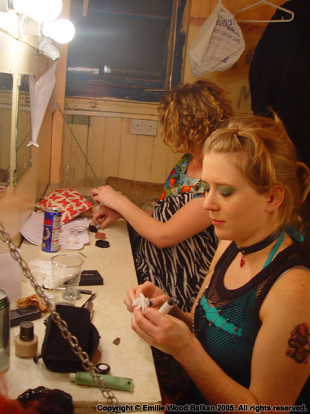 Putting on Theatrical Make-up