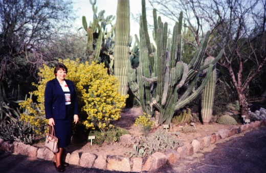 Yours truly at the Desert Botanical Garden