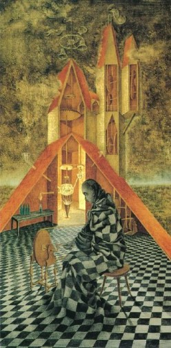 Poem - The Alchemist ..after Remedios Varo