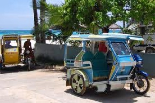 Tricycle In Boracay
