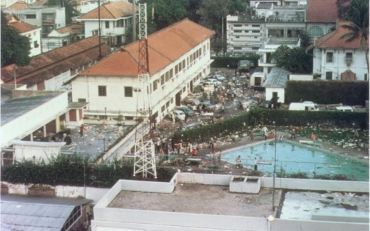 American Embassy Compound, Saigon, Rep. Vietnam