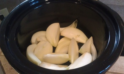 Preparing Crock Pot Rosemary Roast