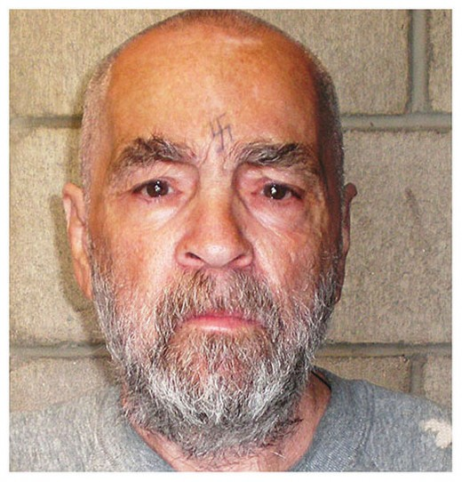 Charles Manson in 2009. Believed to constitute 'Fair Use' to illustrate this article.