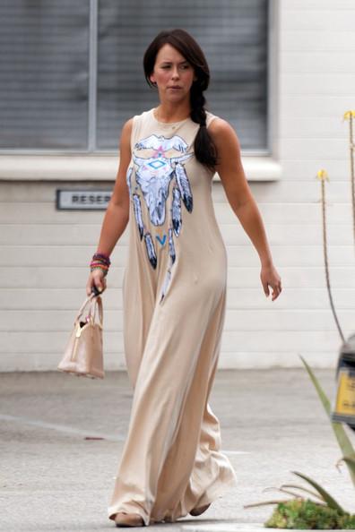 Jennifer Love Hewitt in Native American Style Clothing