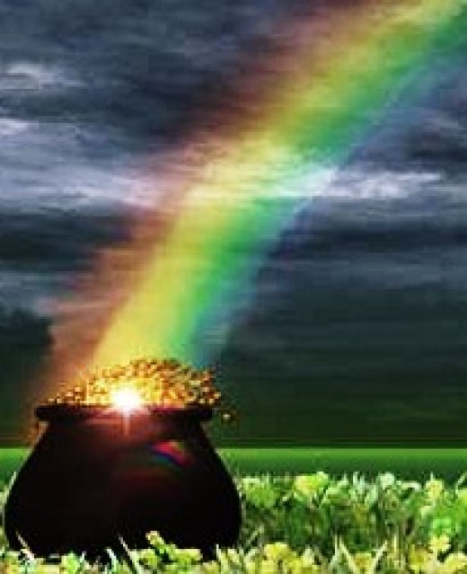 sometimes there isn't gold at the end of a rainbow, because you didn't read the fine print