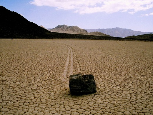 Racetrack Playa, Death Valley National Park, California