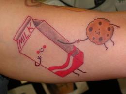Milk + cookie = love