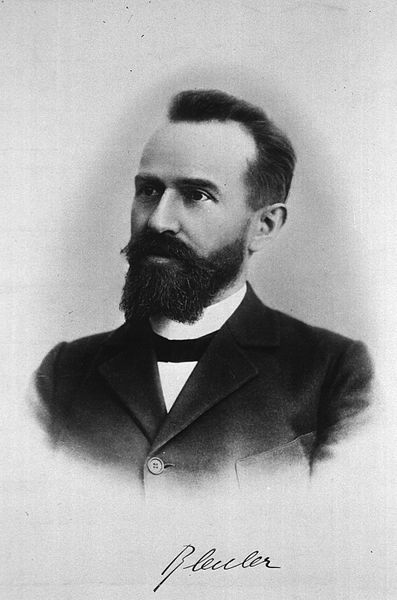 The term schizophrenia was coined by Eugen Bleuler.