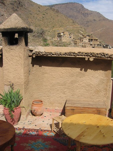 Inside the Kasbah Du Toubkal