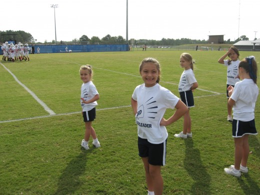 Cheerleading is a great team sport for kids.